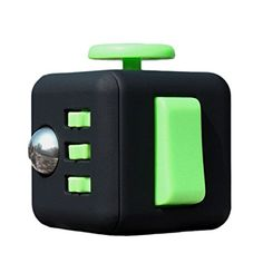 2851231afb Fidget Toy Cube Relieves Stress and Anxiety for Children and Adults Funny  Office Gift (Red