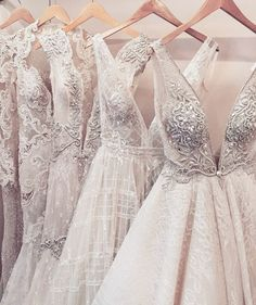 Dreamlike wedding dresses. Every bride will look stunning in those dresses #hochzeit #brautkleider #traumhaft