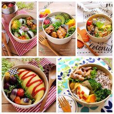 たっきーママ 公式ブログ - お弁当箱の形別*お弁当の詰め方(レシピなしです) - Powered by LINE