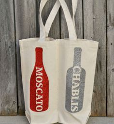 A bottle of wine is a classy gift to bring if you're going to a party or dinner event. Make it even more thoughtful with this Glittery Wine Gift Bag, an easy sewing project that will make you a gracious, welcomed guest.