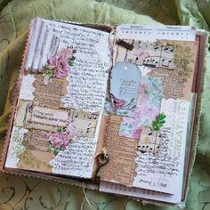 Journal Paper, Scrapbook Journal, Art Journal Pages, Art Journals, Bullet Journal Art, Junk Journal, Art Journal Inspiration, Journal Ideas, Journal Writing Prompts
