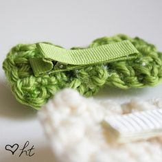 Happy Together: Crocheted Hair Bows (Tutorial)