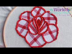 Basic Embroidery Stitches, Rose Embroidery, Embroidered Flowers, Youtube, Drawings, Vestidos, White Embroidery, Punch Needle, Embroidery Ideas