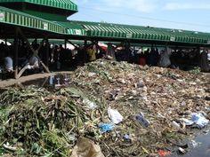 Las cosechas terminan en la basura en Papúa Nueva Guinea