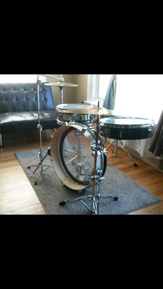 Homemade Drum, Drums Girl, Drums Logo, Drums Artwork, Ludwig Drums, Drum Room, Drums Beats, Drum Lessons, Homemade 3d Printer