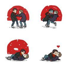 Klaine on Ice!