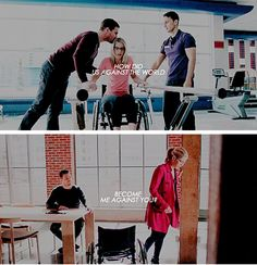 How did us against the world…..become me against you? :( #Olicity #Arrow