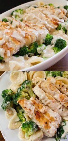 Easy, Creamy, Garlicky, Chicken and Broccoli Pasta Recipe http://www.smartschoolhouse.com/easy-recipe/chicken-and-broccoli-pasta?utm_content=buffer63ea2&utm_medium=social&utm_source=pinterest.com&utm_campaign=buffer#_a5y_p=3492398