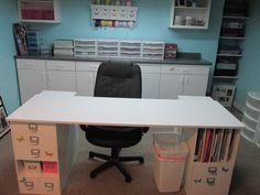 My new scrapbook room.