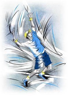 Tennis 1 by Emmy-Alvy