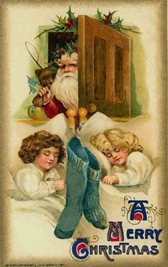 Victorian Postcards - Santa - winter musgrave - Picasa Web Albums