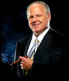 Rush Limbaugh - one arrogant man I agree with and admire.
