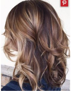 If I ever go darker with my hair color, I would do something like this