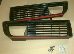 I wish these TA grills were more recognizable. These look perfect to hang dangle earrings from to keep them organized! 1981 Trans Am, Firebird Formula, Front Grill, Grilling, Hardware, Dangle Earrings, Ideas, Computer Hardware, Thoughts