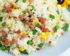 Spam Fried Rice - A simple local style method for making fried rice! (*LG - Not the most flavorful fried rice I've had, but still tasty! Spam Recipes, Rice Recipes, Cooking Recipes, Healthy Recipes, Batch Cooking, Healthy Drinks, Spam Fried Rice, Making Fried Rice, Hawaiian Dishes