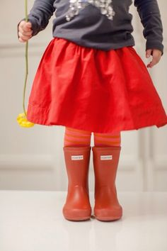 Leslee Mitchell Kids. Hunter boots for kids.