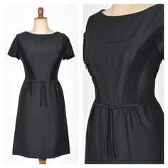 Unique Vintage, Dresses For Work, Glamour, Detail, Black, Fashion, Unique, Things To Do, Moda