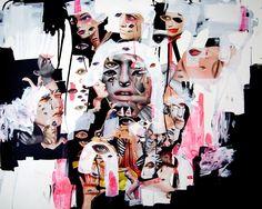 tasya van ree / collage eyes