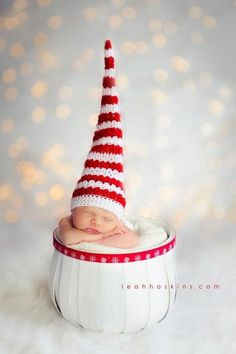 Newborn Christmas Photography idea