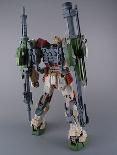 MG 1/100 GAT-X103 Buster Gundam: Painted Build.