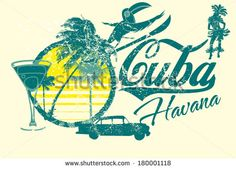 Find Havana Cuba Vector Art stock images in HD and millions of other royalty-free stock photos, illustrations and vectors in the Shutterstock collection. Cuba Tourism, Tourism Poster, Havana Cuba, Free Vector Graphics, Vector Art, 1950s Art, Retro, Images, Illustration