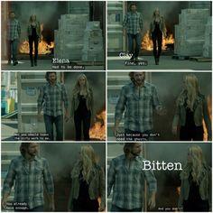 Clay and Elena | #Bitten