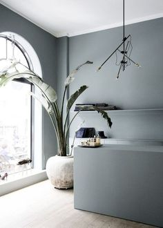 Color Inspiration Soft Grey Blue In My Dream House Hus - Color Inspiration Soft Grey Blue French By Design Color Inspo Oval Room Blue Home Interior Colors Interior Design Wall Kitchen Wall Design Hotel Bathroom Design Shop Interior Design Gray Inter Interior Design Inspiration, Home Interior Design, Interior Architecture, Interior And Exterior, Interior Decorating, Interior Colors, Shelf Inspiration, Kitchen Interior, Color Inspiration