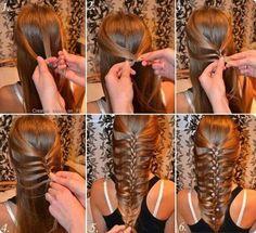 add hair as you braid