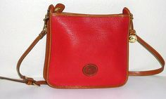 Dooney & Bourke D&b Vintage All Weather Leather Zip Top Rare Shoulder Bag. Get one of the hottest styles of the season! The Dooney & Bourke D&b Vintage All Weather Leather Zip Top Rare Shoulder Bag is a top 10 member favorite on Tradesy. Save on yours before they're sold out!