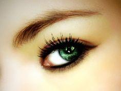green eyes faint shadow awesome
