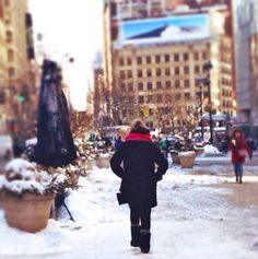 Love Walking in Winter