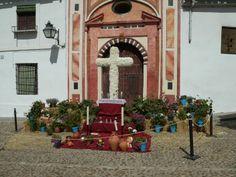Cruz de Mayo.Plaza de Abades.Cordoba