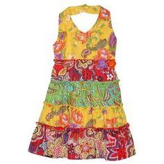 Blueberi Boulevard Toddler Girl's Halter Dress « Dress Adds Everyday