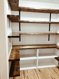 Küchen speisekammer Farmhouse Pantry renovation How To Balance Working At Home And Raising Your Kids Pantry Shelving, Pantry Storage, Pantry Organization, Pantry Ideas, Shelving Ideas, Pantry Diy, Refrigerator Storage, Kitchen Storage, Pantry Room
