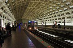 Pentagon City,  Washington Metro rapid transit station.  Pentagon City Metro Station. Arlington, Virginia,  1250 South Hayes Street  Arlington, VA 22202