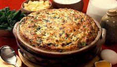 Suflê de espinafre com MAGGI® Caldo de Legumes