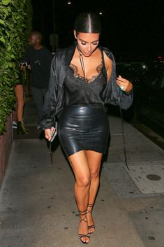 Kim Kardashian at Giorgio Baldi with Kanye West, 11 August 2016