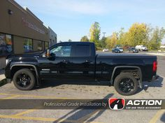 This 2016 GMC Sierra stopped by our store in London, ON. to get the following accessories installed today: - Super Springs -Trifecta Tonneau cover by Extang - Bugdeflector II and Vent Shades by AVS #ProfessionalGradeInstallation
