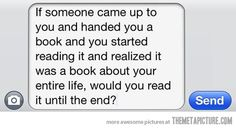 Would you read it until the end?