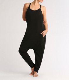 The Onesie Jumpsuit : Black : L