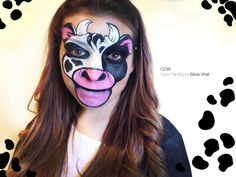 COW-MUCCA Face Painting by SIlvia Vitali