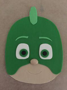 PJ Masks Inspired Cake Topper  Gekko by PeaceLoveandCakeNY on Etsy