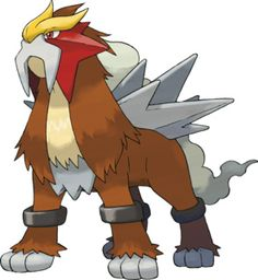 Entei A legendary Fire Type and a roamer and battle-fleer. Use fast moves like Quick Attack and Psychic and Electric Type moves to lower its HP. Have your leading Pokemon use Whirlpool or Mean Look. Also try using Fast Balls. 151 Pokemon, Pokemon Team, Rayquaza Pokemon, Fire Pokemon, Pokemon Games, Pokemon Pokedex List, Charizard, Pokemon Tattoo, Display Pokemon