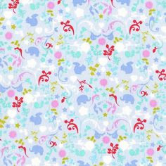 Oh Baby Charms Powder by Michael Miller Fabrics 100% Cotton - The Supermums Craft Fair