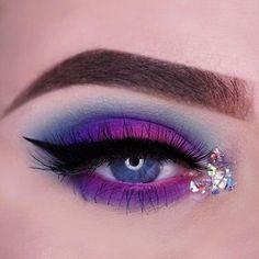 Pink and Purple Eye Makeup Looks 10
