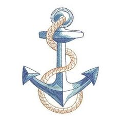 Machine Embroidery Ideas Sketched Nautical - Welcome guests with a maritime accent, featuring fine shading and detailed fill. Border Embroidery, Machine Embroidery Patterns, Hand Embroidery Designs, Diy Embroidery, Embroidery Jewelry, Embroidery Stitches, Best Embroidery Machine, Brother Embroidery Machine, Machine Quilting