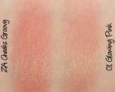 ZA Cheeks Groovy Blusher - #01 Glowing Pink Swatches & Review