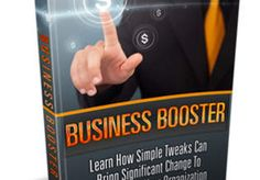 *BUSINESS BOOSTER*  If you want your business to be successful you have to ensure that you're doing the correct things correctly.  This very good ebook will teach you how you can improve your marketing business effectively.  It sells for $20 on my website but you can have it here for a LIMITED time only.  IF YOU BUY THIS GIG YOU CAN CHOOSE ANOTHER ONE FROM MY LIST FOR FREE!
