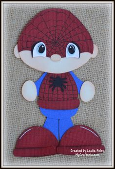 Spider-Man Super Hero Premade Scrapbooking by MyCraftopia on Etsy