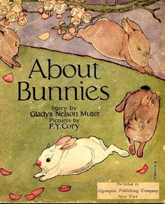 vintage bunny illustrations
